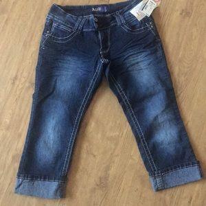 Angels capris jeans